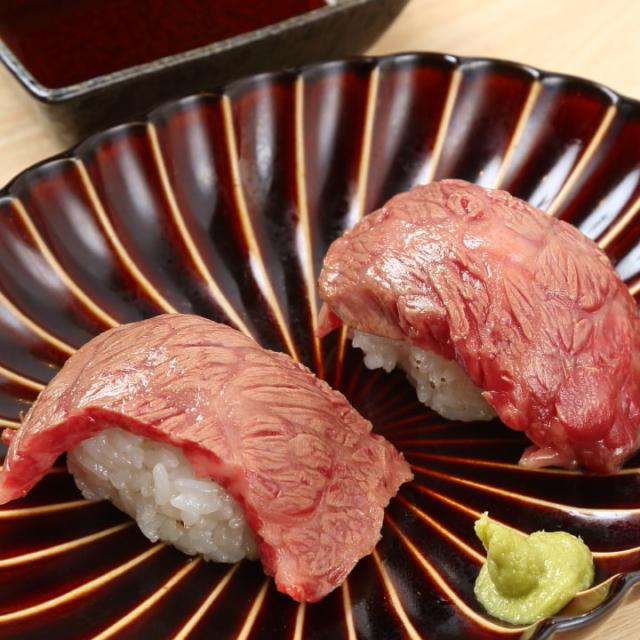 トロレアステーキ寿司