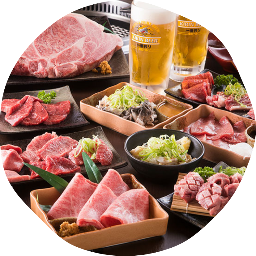 近江牛ホルモン焼肉カメチク 近江八幡店のコース